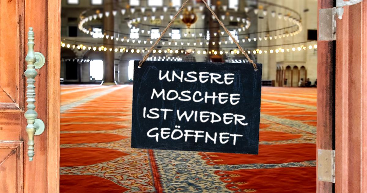 Noktara - Unter diesen Bedingungen dürfen Moscheen ab 1. Mai öffnen