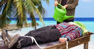 Noktara - Urlauber hat sich Waterboarding irgendwie anders vorgestellt