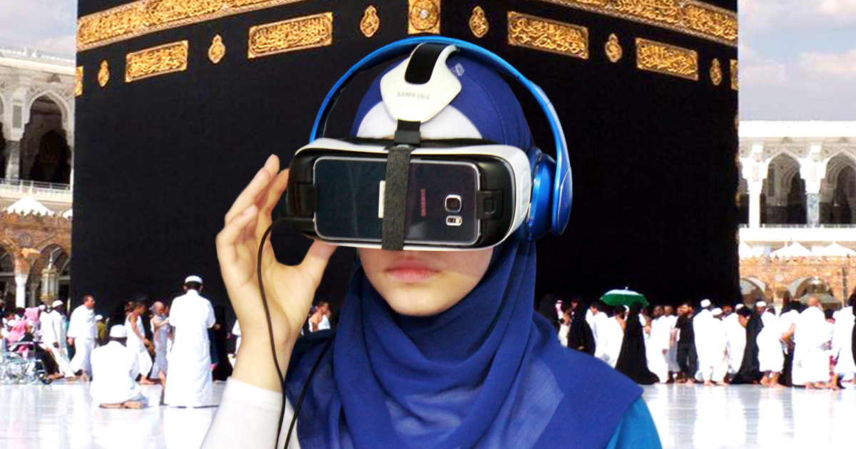 Noktara - VR-Hadsch- Saudi-Arabien ermöglicht virtuelle Pilgerfahrt