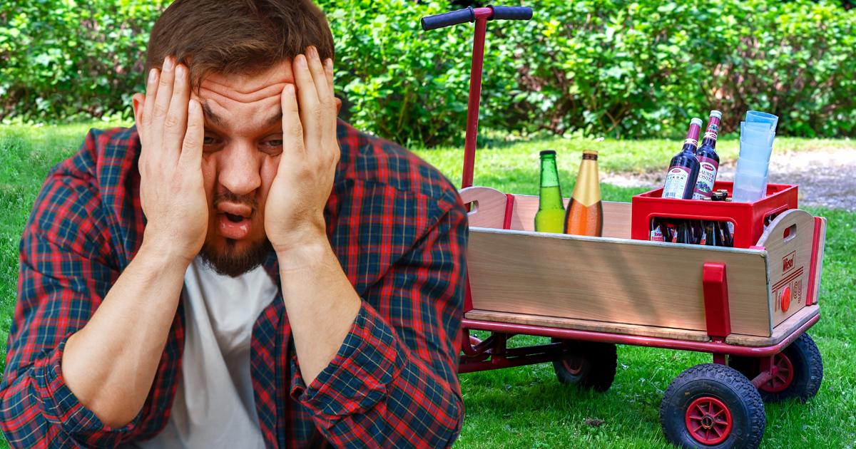 Noktara - Vatertag - Alman so betrunken, dass er die Namen seiner Kinder vergisst