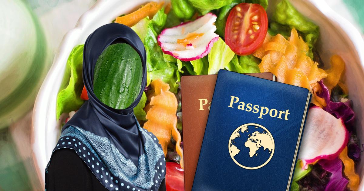 Vegetaristan: Gürkin beantragt Asyl im Konsalat