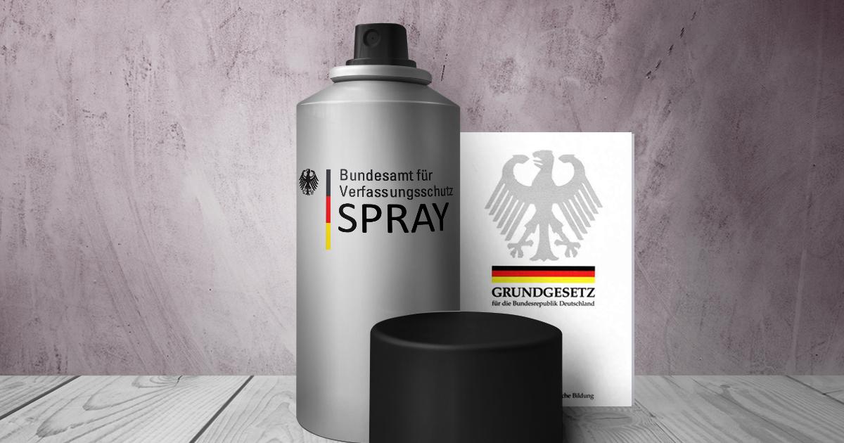 Noktara - Verfassungsschutz jetzt als praktisches Spray erhältlich