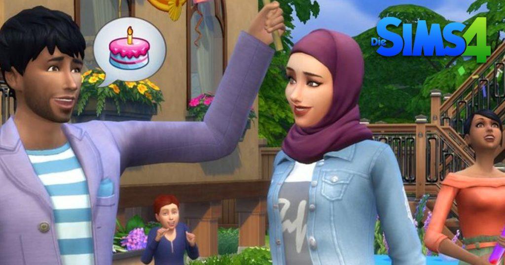 Noktara - Virtuelles Kopftuch - Videospiele mit verschleierten Frauen - Die Sims 4