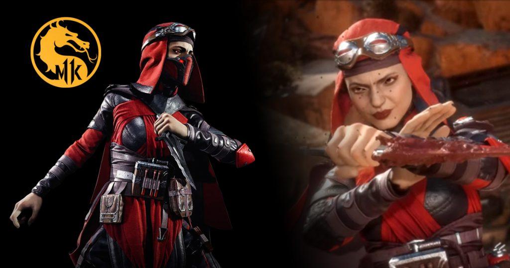 Skarlet aus Mortal Kombat 11