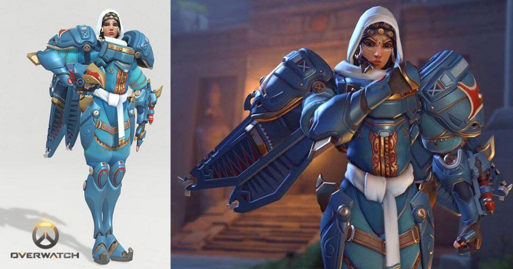 Videospiele mit verschleierten Frauen - Pharah aus Overwatch