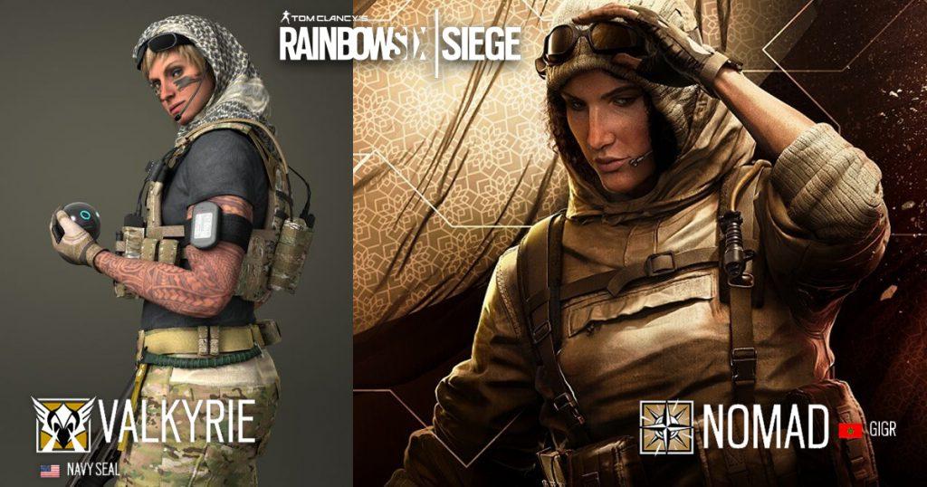 Virtuelles Kopftuch: Videospiele mit verschleierten Frauen - Valkyrie und Nomad aus Rainbow Six: Siege