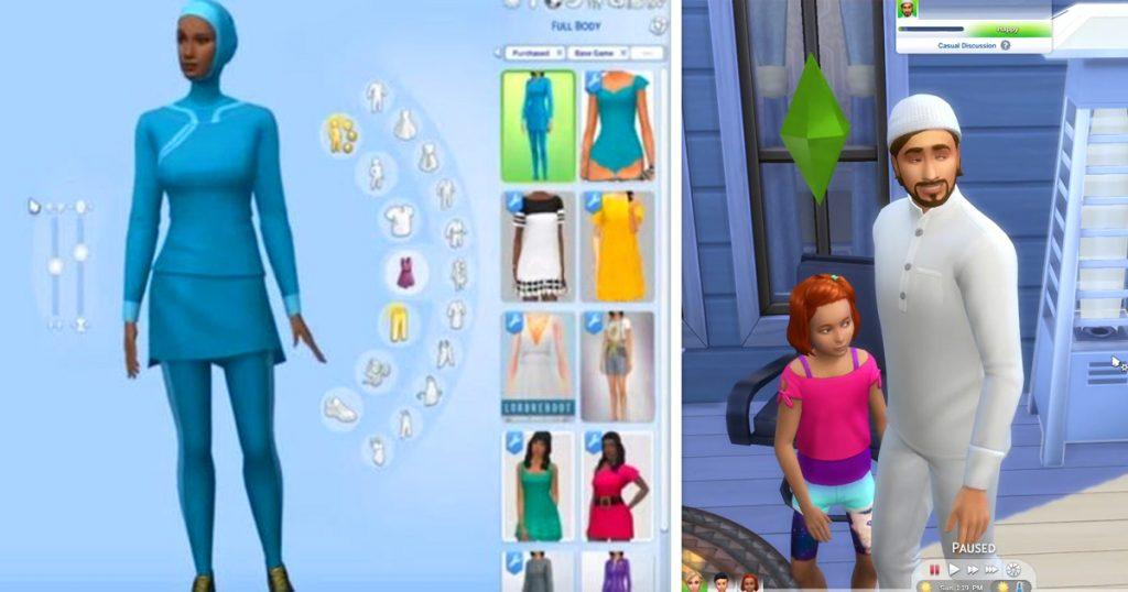Das islamische Update für die Sims 4 - Burkini