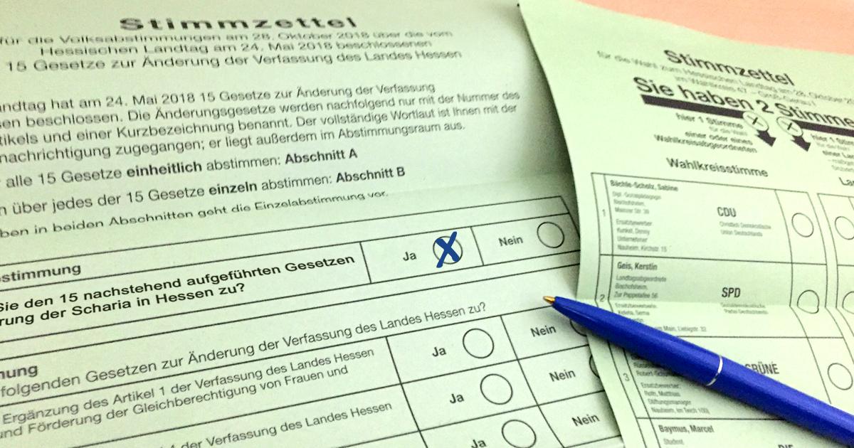 Noktara - Volksentscheid - Mehrheit stimmt für Einführung der Scharia - 2