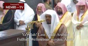 WM-Sieg: Saudi-Arabien betet für Niederlage der Ungläubigen
