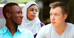 Noktara - Weißer fühlt sich diskriminiert, weil er als einziger nicht diskriminiert wird - Rassismus gegen Weiße