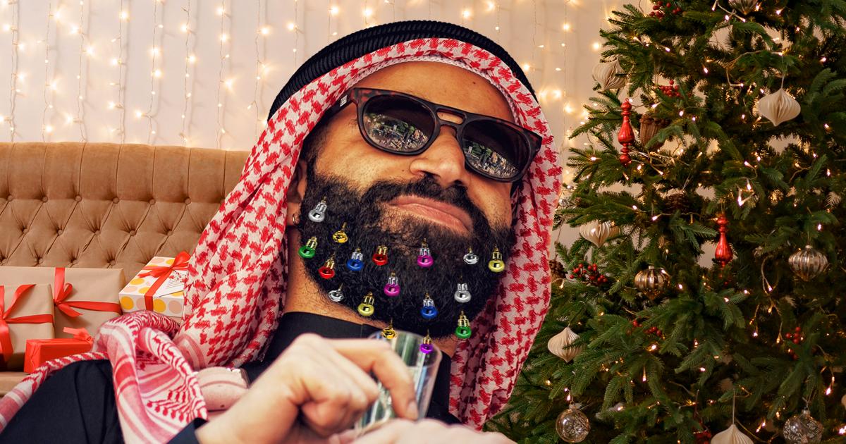 Noktara - Weihnachtsbart - Immer mehr Muslime dekorieren ihre Bärte
