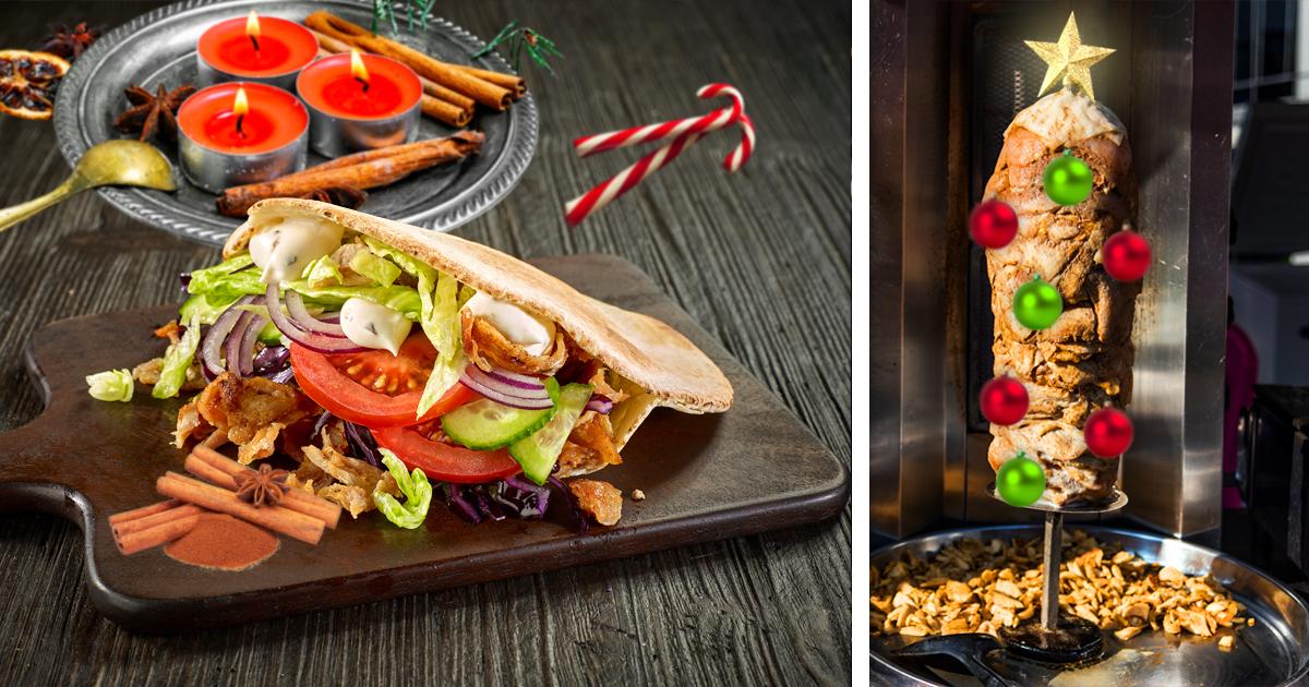 Noktara - Weihnachtsdöner- Türkischer Imbiss verkauft festlichen Zimt-Kebab