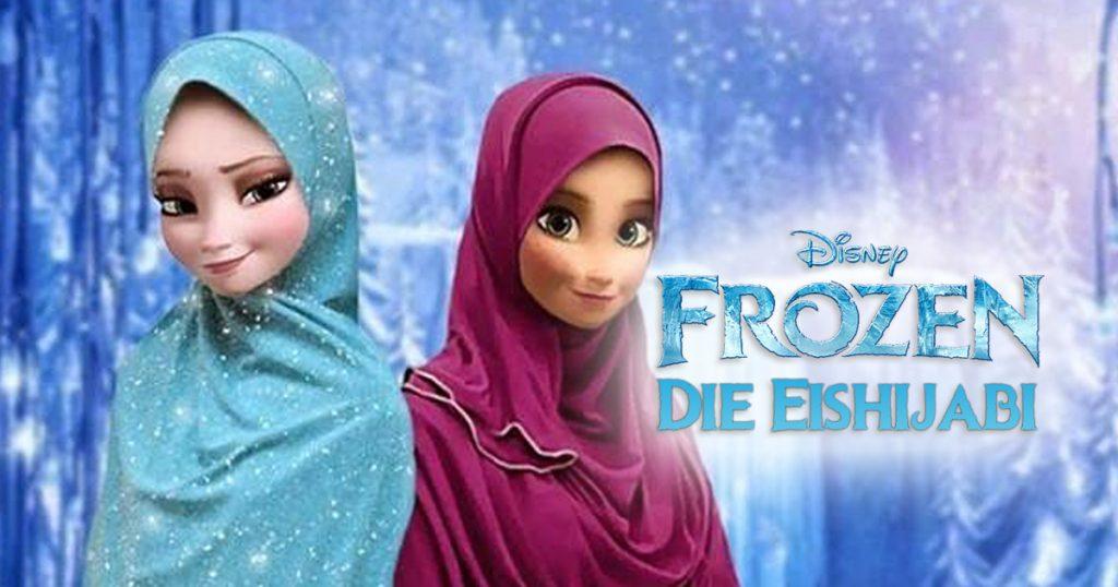 Noktara - Weihnachtsfilme für Muslime - Frozen - Die Eisprinzessin - Die Eishijabi