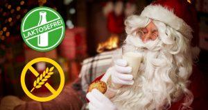 Noktara - Weihnachtsmann verträgt nur laktose- und glutenfreie Milch und Kekse