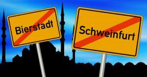 Weitere Ortsnamen, die aus Rücksicht auf Muslime geändert werden