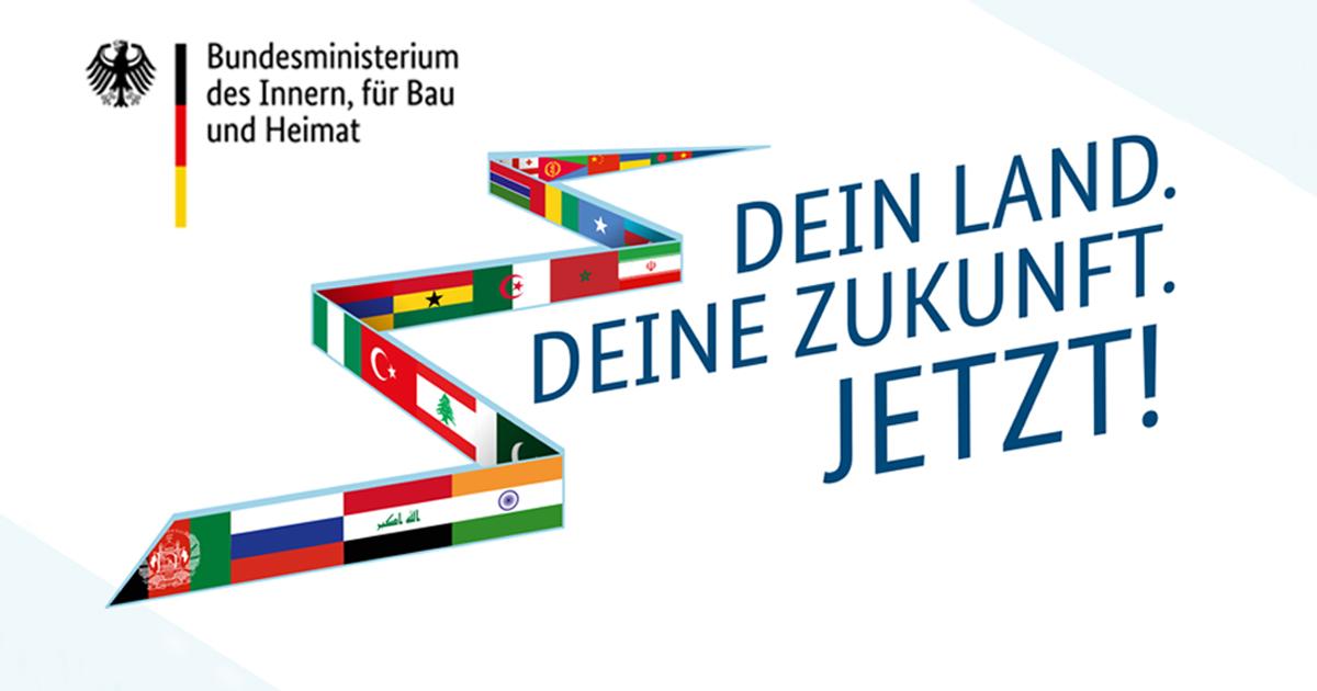 Noktara - Weitere Werbeplakate für eine Freiwillige Rückkehr von Flüchtlingen - Dein Land - Deine Zukunft - Jetzt