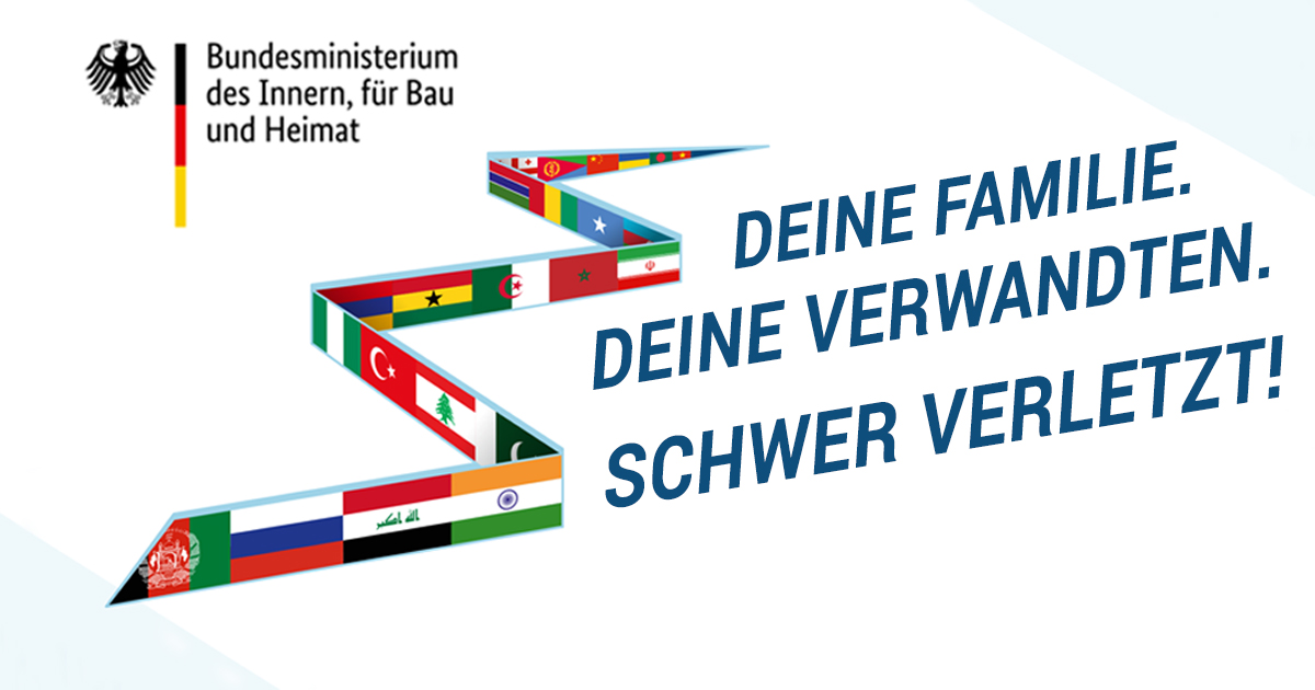 Noktara - Weitere Werbeplakate für eine Freiwillige Rückkehr von Flüchtlingen - Deine-Familie-Deine-Verwandten-Schwer-verletzt