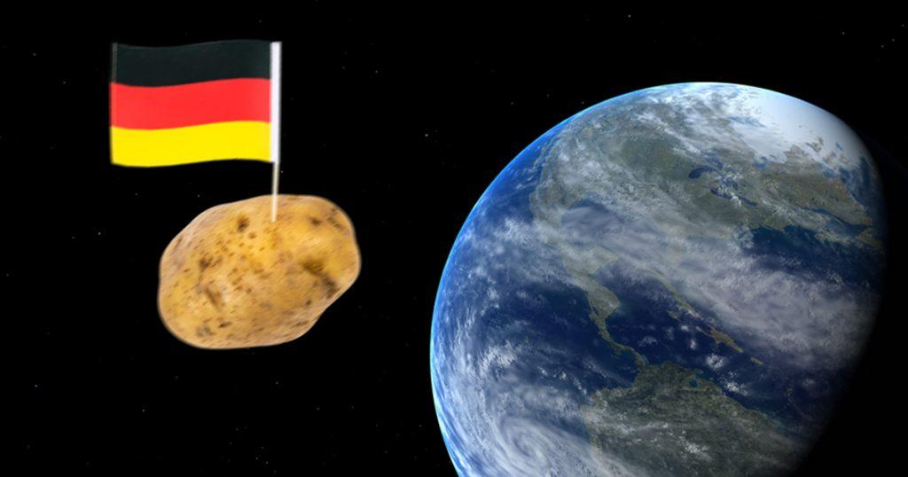 Welt-Alman: Deutsche Astronauten pflanzen Kartoffeln auf dem Mars