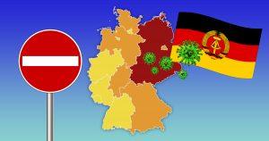 Noktara - Westdeutschland schließt wegen Corona Grenzübergänge zur DDR