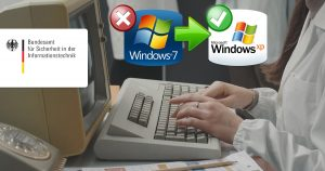 Noktara - Windows 7-Support endet- Deutsche Behörden wechseln auf Windows XP