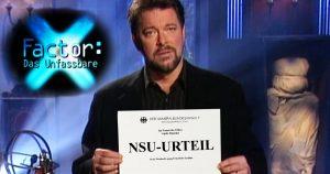 Noktara - X-Factor - Das Unfassbare - Jonathan Frakes präsentiert NSU-Prozess
