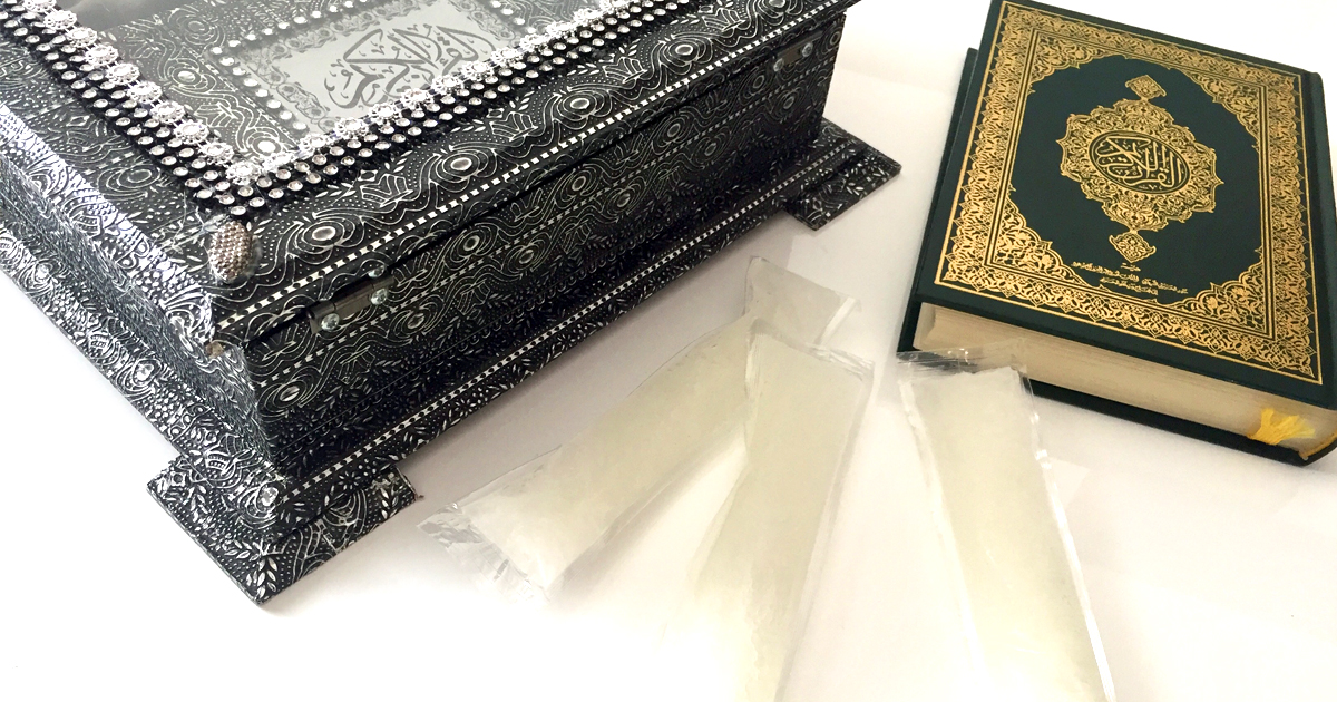 Noktara - Zamzam-Wassereis mit Koran