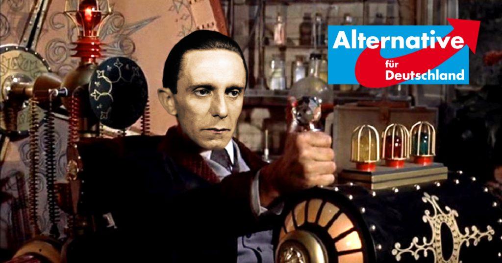 Noktara - Zeitreisender NSDAP-Politiker tritt der AfD-Sachsen bei
