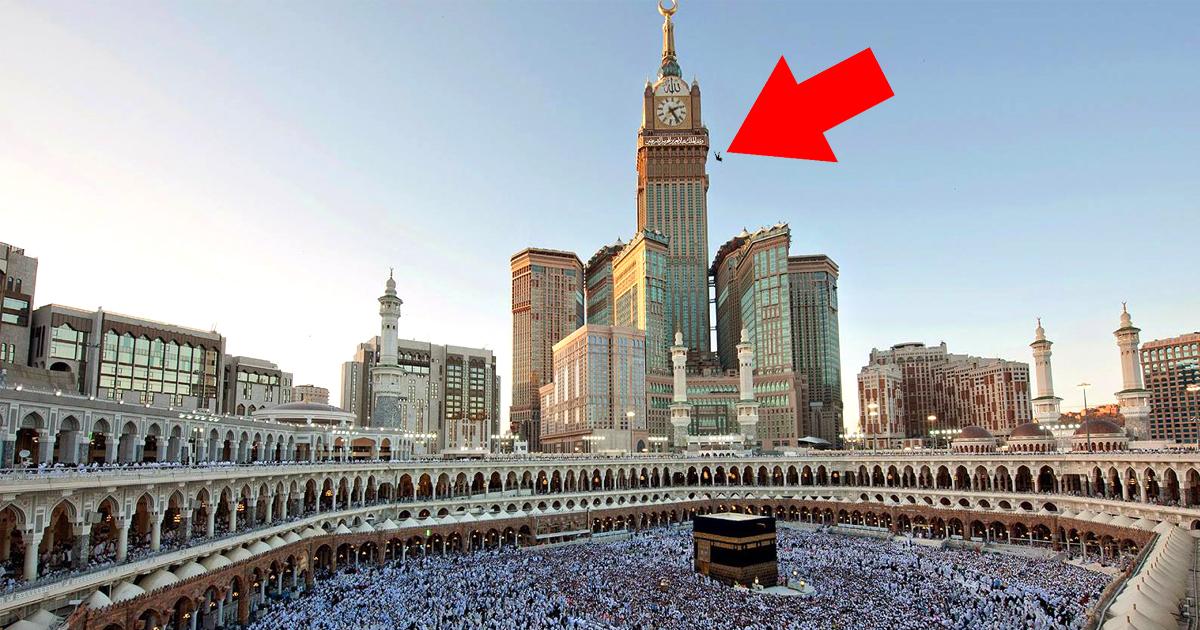 Zeitumstellung in Mekka: Techniker fällt vom Uhrenturm