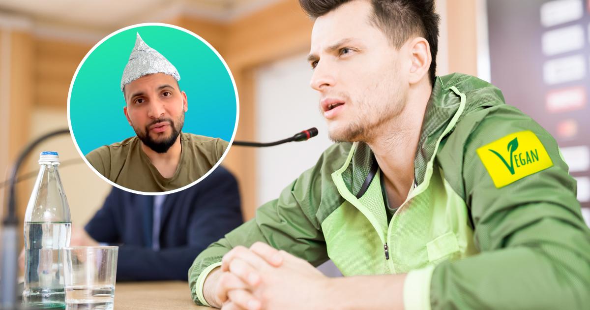 Noktara - Zentralrat der Veganer distanziert sich von Verschwörungsschwurbler Attila Hildmann - Pressekonferenz