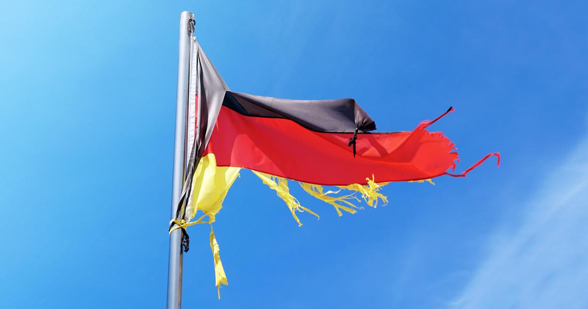 Noktara - Zerrisen - Neue Flagge zum Tag der deutschen Einheit
