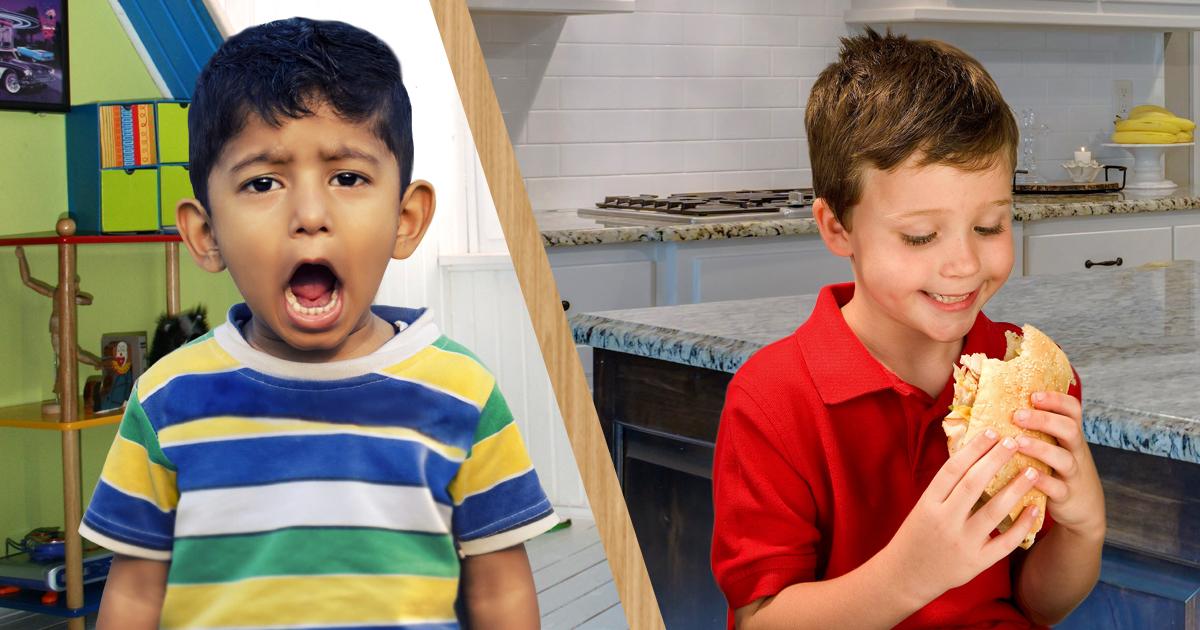 Noktara -Zu Besuch bei Almans - Ausländisches Kind bekommt nichts zu essen