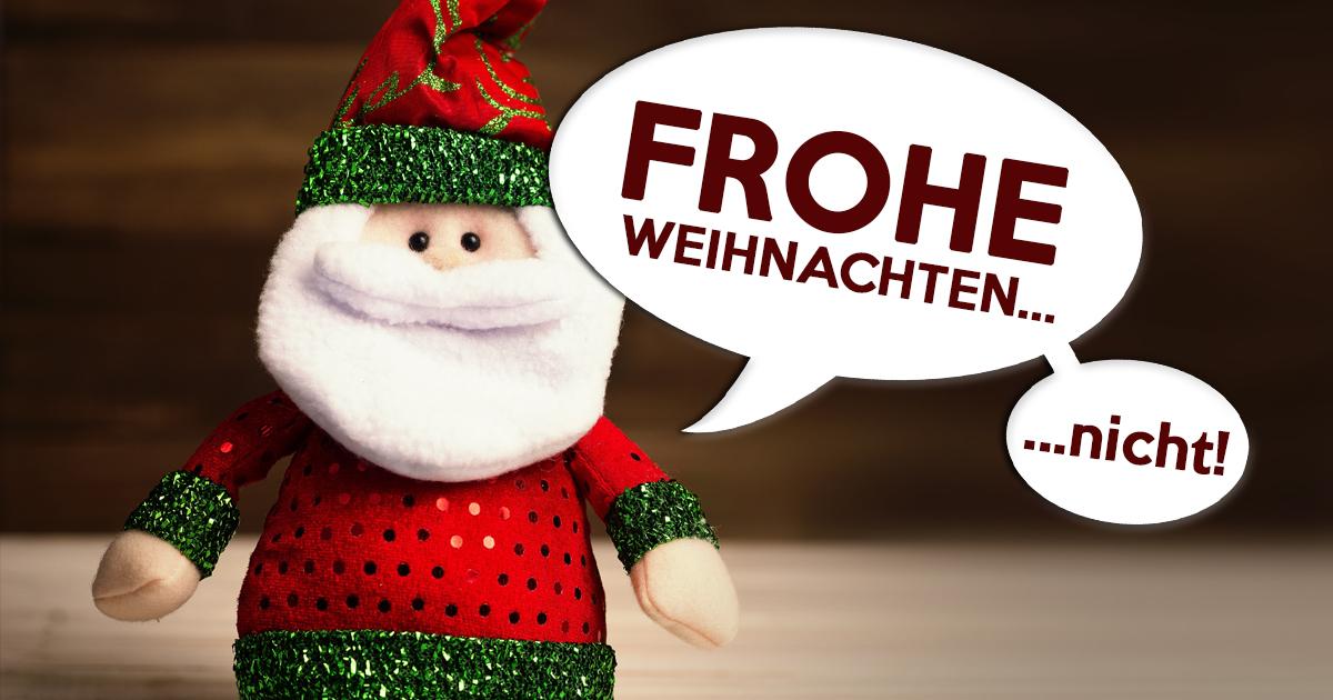 Zu Weihnachten gratulieren ohne ungläubig zu werden!