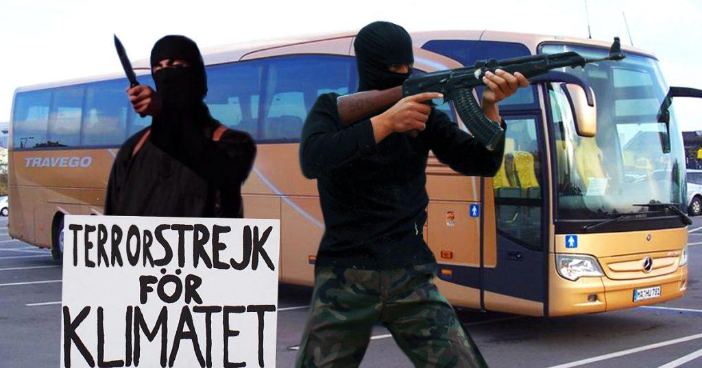 Noktara - Zu viel CO2- IS will nur noch Busse statt Flugzeugen entführen