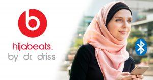 Noktara - hijabeats by dr. driss - Kopftuch mit eingebauten Bluetooth-Kopfhörern
