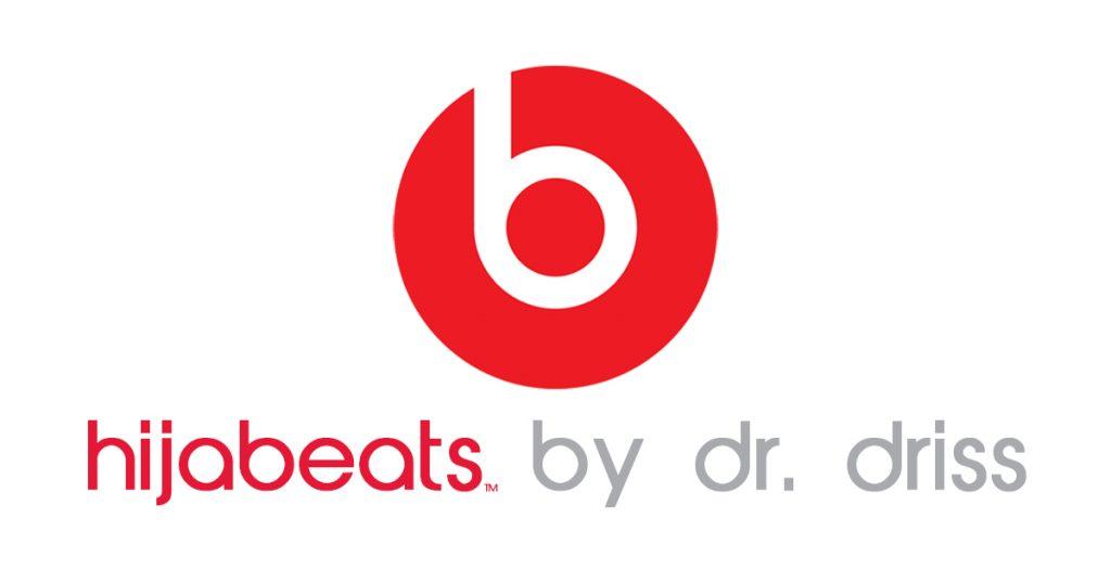 Noktara - hijabeats by dr. driss - Kopftuch mit eingebauten Bluetooth-Kopfhörern - Logo