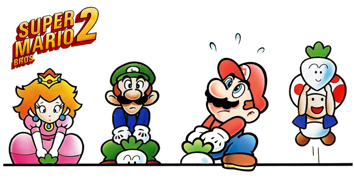 Super Mario Bros 2 Steckrüben