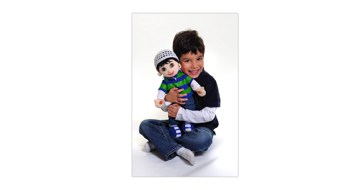 Yusuf sprechende muslimische Puppe
